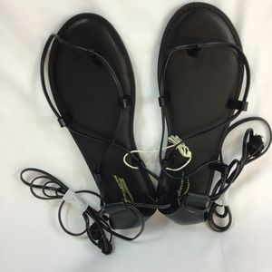 AMERICAN EAGLE OUTFITTERS Black Sandal Size 9